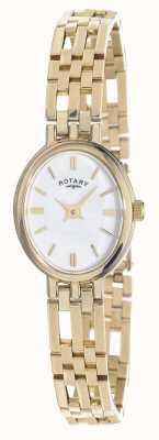 Rotary Mostrador oval dos metais preciosos da elite do ouro 9k LB10090/02