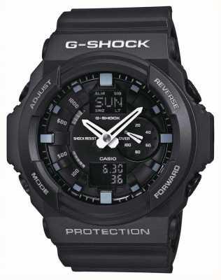 Casio Cronógrafo preto g-shock para homem GA-150-1AER