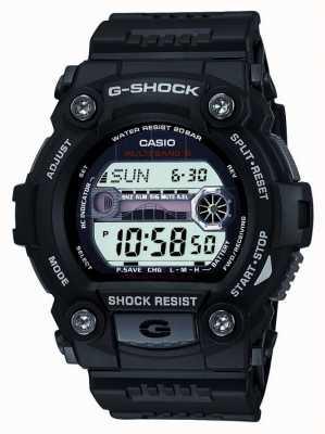 Casio Cronógrafo digital preto para homens com g-choque GW-7900-1ER
