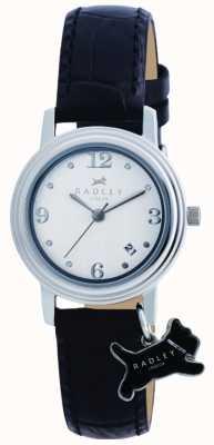 Radley Darlington relógio de pulseira de couro preto RY2007