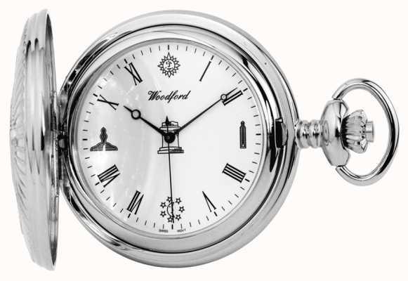 Woodford Relógio de bolso maçônico 1227