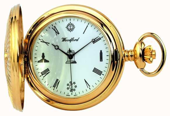 Woodford Relógio de bolso maçônico 1214