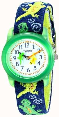 Timex Relógio de estiramento de geckos para crianças T72881