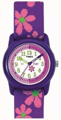 Timex Aprenda a dizer relógio com pulseira de relógio T89022
