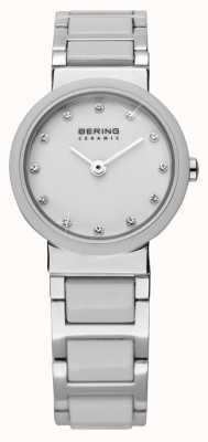 Bering Relógio cerâmico de tom dual 10725-754