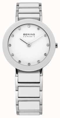 Bering Relógio de cerâmica e pulseira de metal 11429-754