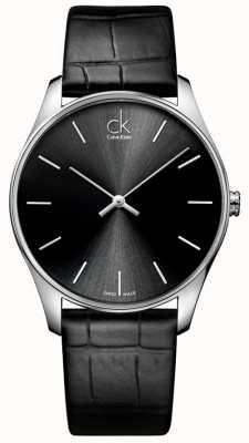 Calvin Klein Mens clássico relógio preto K4D211C1