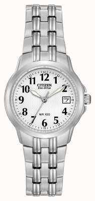 Citizen Relógio de eco-drive de silhueta para mulher EW1540-54A