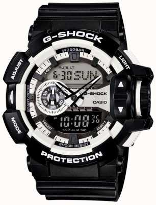 Casio Mens relógio g-shock preto GA-400-1AER
