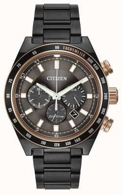 Citizen Sport-Chronograph Gunmetal eco-drive CA4207-53H