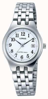 Lorus Relógio de data em aço inoxidável para senhoras RH791AX9