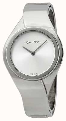 Calvin Klein Sentimentos femininos, relógio de aço inoxidável K5N2M126