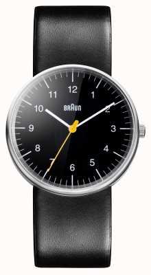 Braun Mens todo relógio de quartzo preto BN0021BKBKG