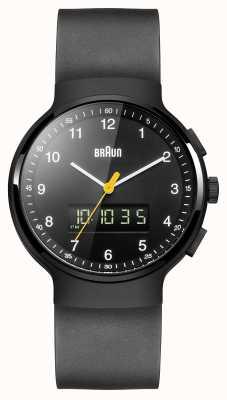 Braun Relógio pretos clássico Anis-digi de Gent BN0159BKBKG