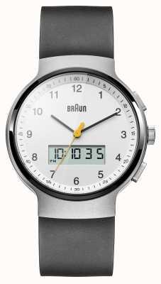 Braun Relógio de vestido de cerâmica preta unisex BN0159WHBKG