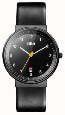 Braun Mens todo relógio preto BN0032BKBKG