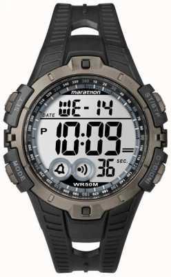 Timex Cronógrafo de alarme para homens indiglo marathon T5K802