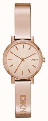 DKNY Bracelete de ouro rosa soho feminino NY2308