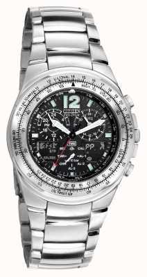 Citizen Ex-display de alarme cronômetro mundial Solar Promaster JR3110-52FEX-DISPLAY
