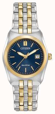 Citizen Womens eco-drive corso wr100 dois tons EW2294-53L
