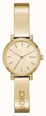 DKNY Prateleira de disco de ouro da série svd de soho para mulheres NY2307