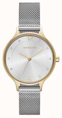 Skagen Malha de aço inoxidável para mulheres anita SKW2340
