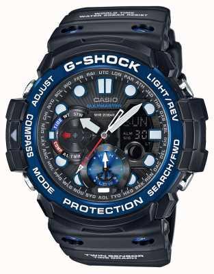 Casio G-shock gulfmaster cronógrafo de alarme GN-1000B-1AER