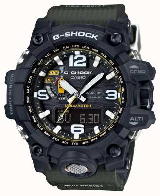 Casio Mudmaster premium g-shock tough solar rc GWG-1000-1A3ER