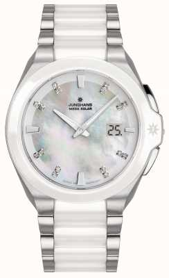 Junghans Spektrum pulseira de cerâmica para senhora 015/1501.44