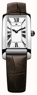 Maurice Lacroix Ladies fiaba 21mm bracelete de couro de moda FA2164-SS001-117-2