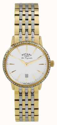 Rotary Prateleira dourada de ouro para mulheres originais LB90056/01