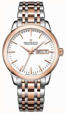 Dreyfuss Mens utilitário relógio 1890 DGB00127/02