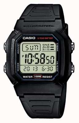 Casio Cronógrafo de alarme de artes esportivas W-800H-1AVES