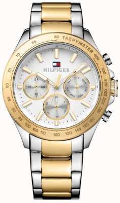 Tommy Hilfiger | Hudson para homem | pulseira de aço inoxidável | mostrador branco | 1791226