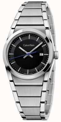 Calvin Klein Senhoras relogio relógio preto K6K33143