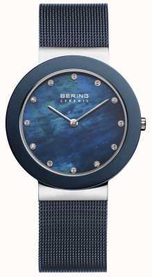 Bering Correia azul feminina faixa azul 11435-387