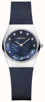 Bering Correia azul feminina faixa azul 11927-307
