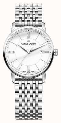 Maurice Lacroix Cristal de safira para mulher Eliros com fundo anti-reflexo EL1094-SS002-110-1
