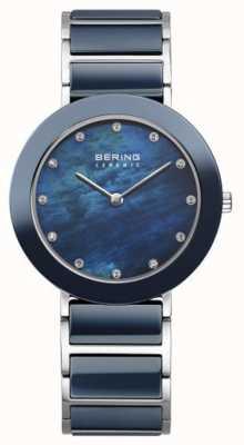 Bering Braille de metal da Marinha da Mulher 11435-787