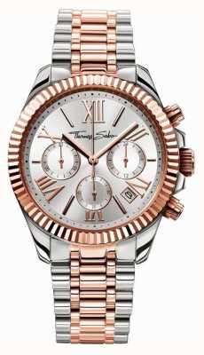 Thomas Sabo Relógio feminino cronógrafo divino WA0221-272-201-38