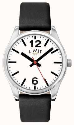 Limit Mostrador branco de pulseira preta para mulher 6181.01