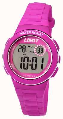 Limit Correia de resina rosa digital para crianças 5584.24
