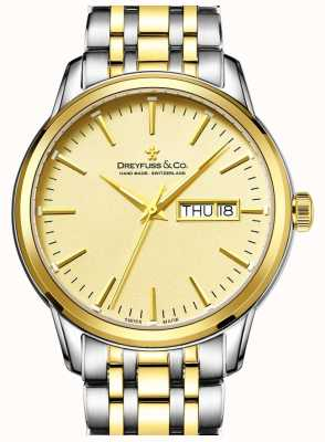 Dreyfuss Relógio de ouro dos anos 1890 dreyfuss dos homens DGB00126/03
