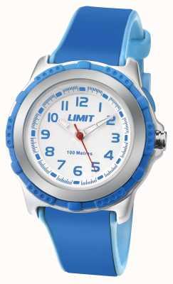 Limit Correia branca ativa de resina azul kids 5600.24