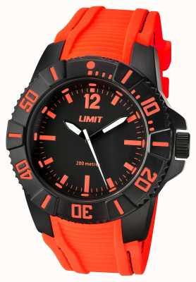 Limit Correia laranja preta ativa para homem 5547.02