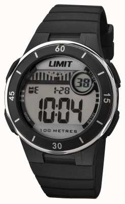 Limit Seletor digital de alça preta unissex 5556.24
