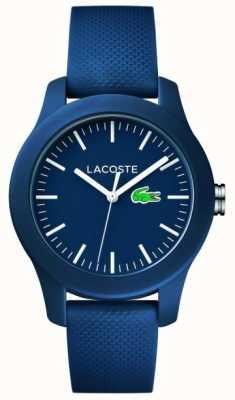 Lacoste Marinha unissex pulseira de borracha 2000955