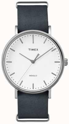 Timex Fairfield unisex fairfield mostrador branco TW2P91300