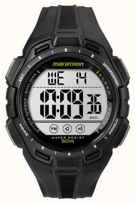 Timex Mens ferro homem maratona alarme preto TW5K94800