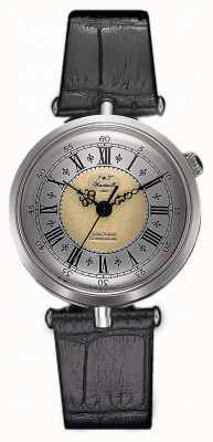 J&T Windmills Mulher throgmorton relógio mecânico prata esterlina WLS10002/50